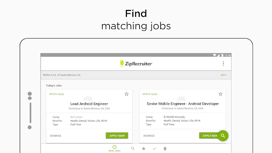 Job Search by ZipRecruiter- screenshot thumbnail