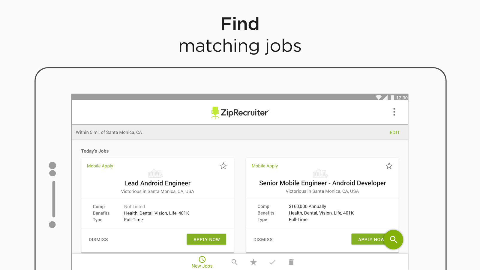 job search by ziprecruiter android apps on google play job search by ziprecruiter screenshot