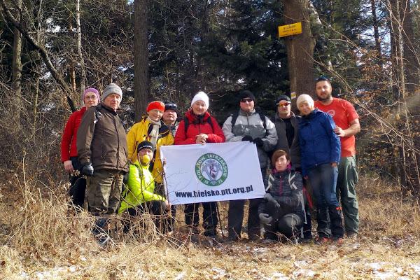 nasza grupka na pierwszym ze szczytów Bliźniaków
