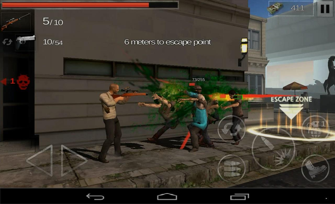 The Zombie: Gundead- screenshot