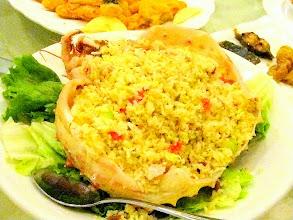 Photo: Aalskan King Crab Fried Rice