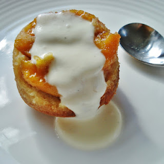 Grain Free Peach Pudding Cakes & Peach Muffins GF SCD