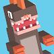 Blocky Jumping Run Avoid Shark (game)
