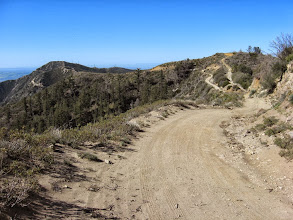 Photo: From same junction on south ridge of Sunset Peak, view south toward Culver Peak. I shall take a U-turn and head to Sunset Peak.