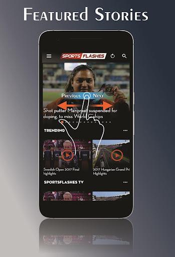 SportsFlashes - Sports Radio, TV, Scores & Updates 5.6 screenshots 3