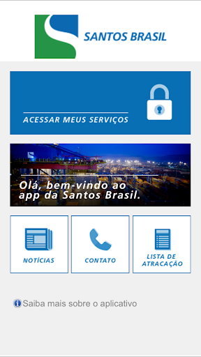 Santos Brasil APP para Tablets