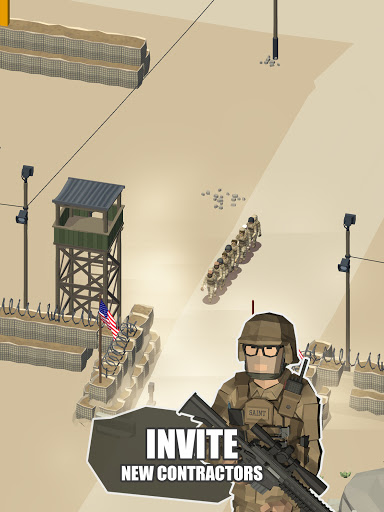 Idle Warzone 3d: Military Game - Army Tycoon 1.1 screenshots 19