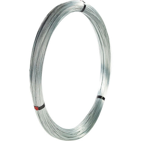 Järntråd Normalförzinkad 2,0 mm 25 kg (5 x 5 kg)