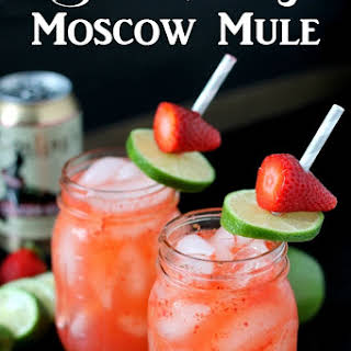 Strawberry Moscow Mules.