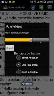 Futuhul Gayb - náhled