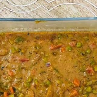Vegetable Kadai - Instant Pot Recipe (One Pot Meal).