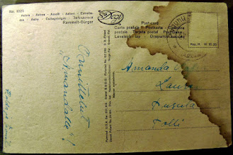 Photo: Harmi, kun tämän postimerkki on liotettu pois