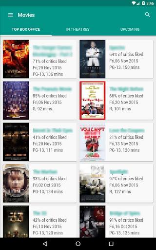Movie & TV Listings – Recommendations & Reviews v1.9 screenshots 11