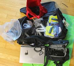 Photo: Packing my Bag o' Cables for Kotesol 2013  More KOTESOL2013 Media at: http://koreabridge.net/kotesol2013
