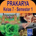 Buku Prakarya Kelas 7 Semester 1 Kurikulum 2013 icon
