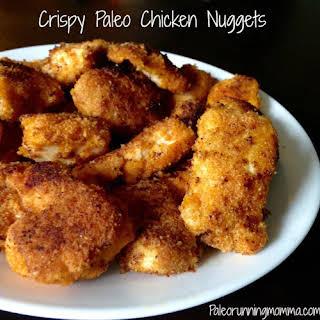 Crispy Paleo Chicken Nuggets.