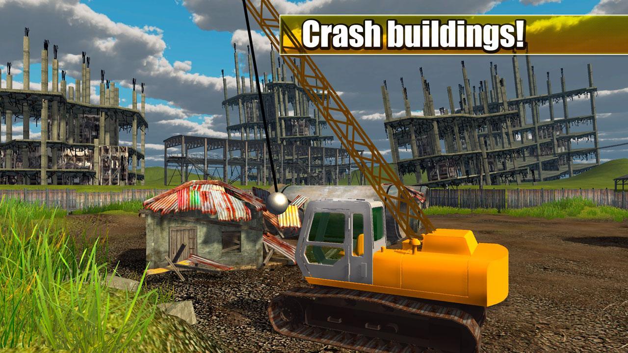Crash House Wrecking Game 3d Screenshot