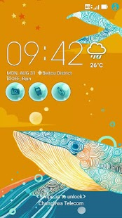 Ocean Dream ASUS ZenUI Theme Screenshot