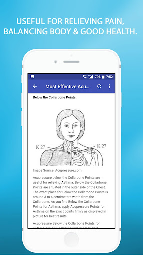 Acupressure Points App Report on Mobile Action - App Store