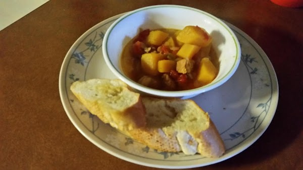 Hot And Spicy Pork And Squash Soup Recipe