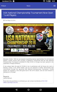Cricket Council USA (CCUSA) - náhled
