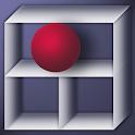 Labyrinth cube icon