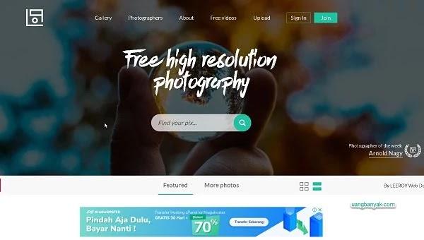 penyedia gambar gratis life of pix untuk keperluan blogging