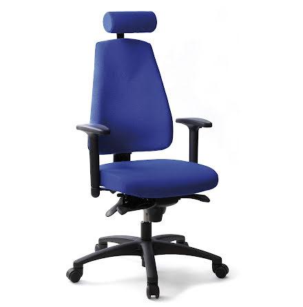 Stol Lanab 6240 inkl.hjul blå