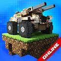 Blocky Cars: tank wars & pixel shooter icon