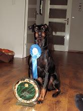 Photo: Zo die trofee heb ik maar even mooi in de wacht gesleept tijdens mijn frisbee wedstrijd.