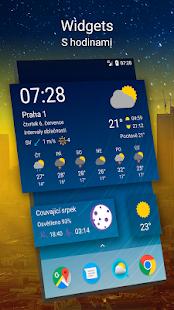 Předpověď počasí na 14 dní - náhled