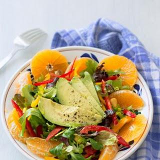Sweet Sour Tangerine Salad