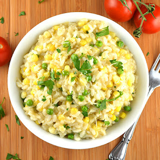 Vegan Sweet Corn Risotto