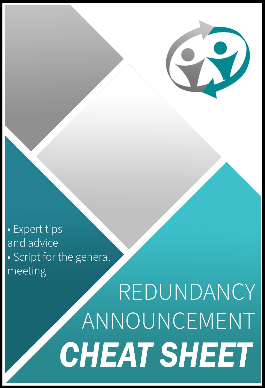 redundancy announcement