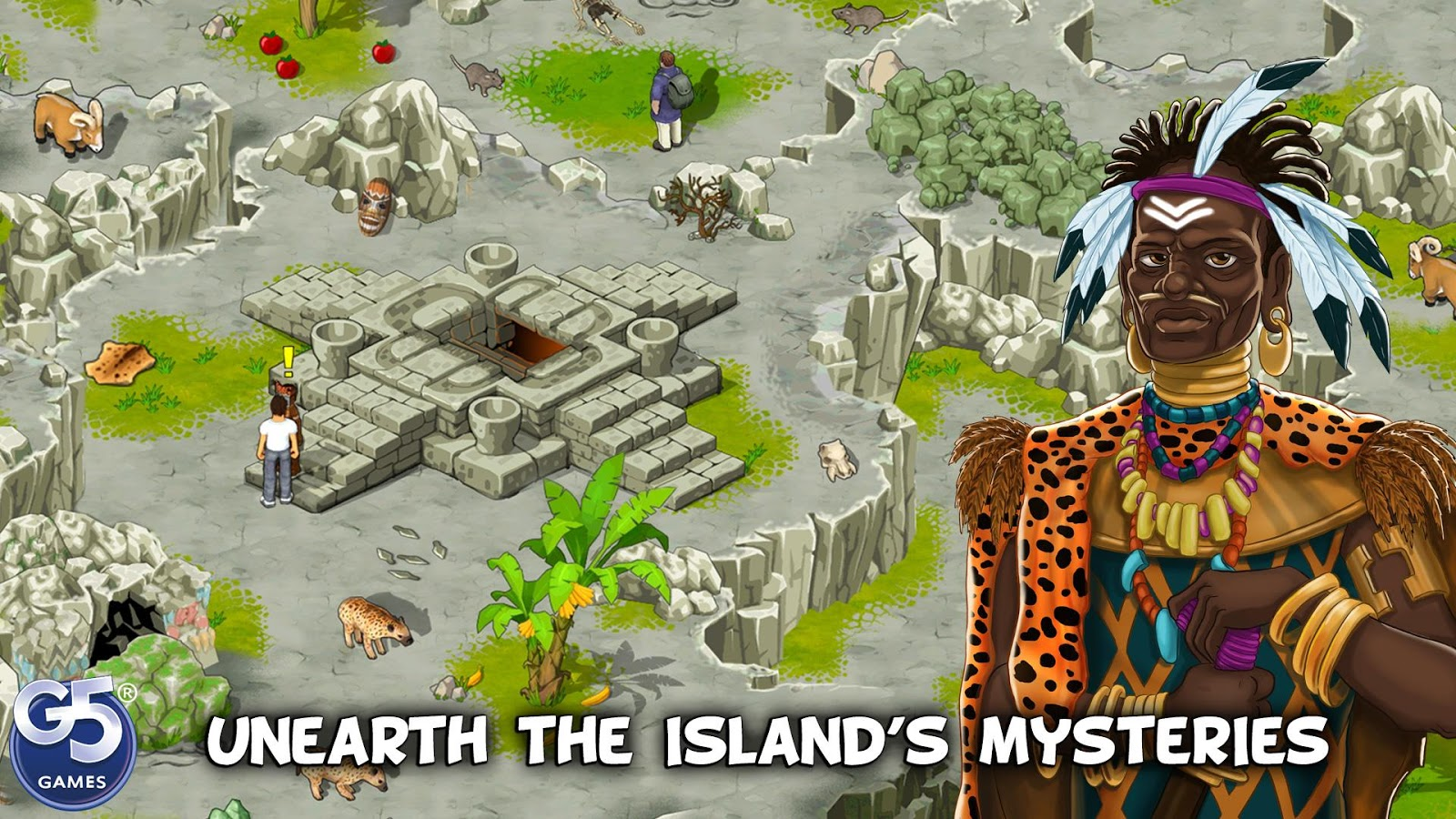 The Island Castaway: Lost World®- screenshot