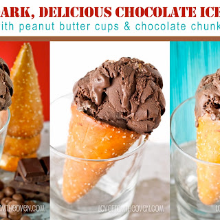 Deep Dark Delicious Chocolate Ice Cream