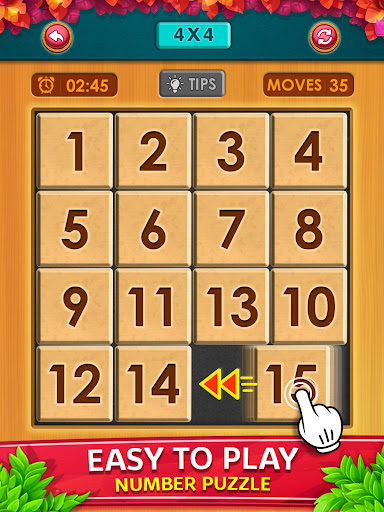 Number Puzzle - Classic Slide Puzzle - Num Riddle android2mod screenshots 9