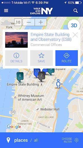 New York Walk And Explore NYC - New Free v 2.0 -  screenshots 4