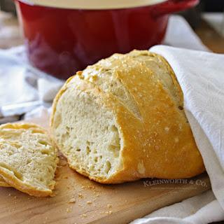 Incredibly Easy Crusty Artisan Bread Recipe