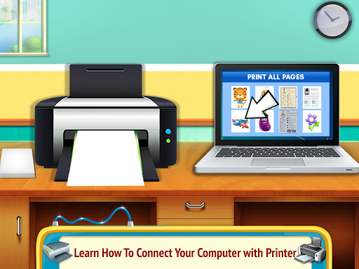 Printer Machine & Scanner Learning Simulator 6.0 screenshots 2