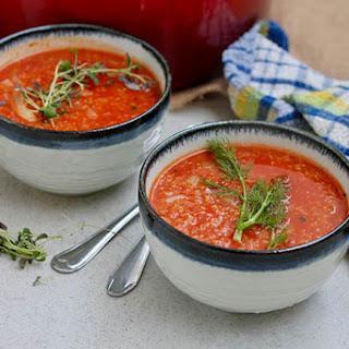 Tomato Fennel Quinoa Soup.