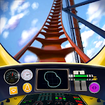 Roller Coaster Train Simulator Icon
