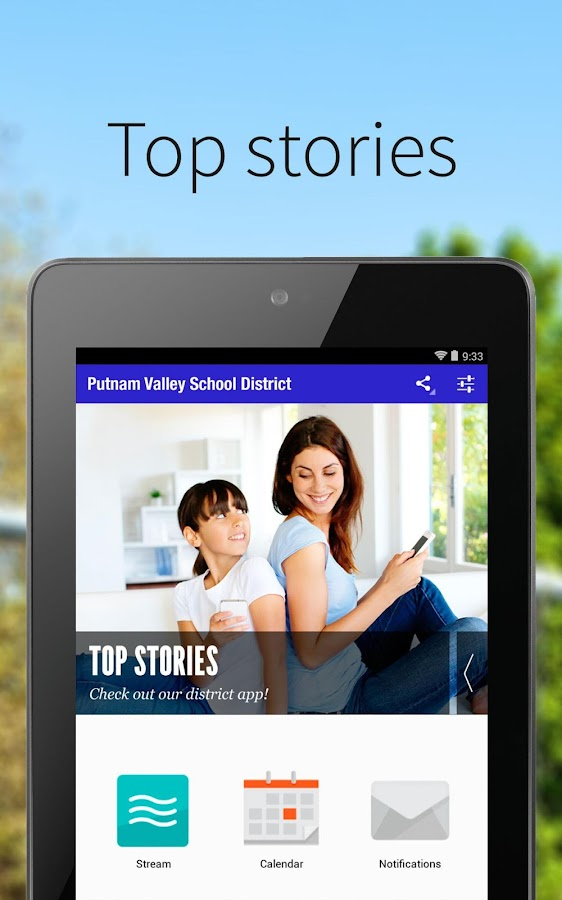 Putnam Valley CSD- screenshot