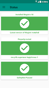 Magisk Manager- screenshot thumbnail