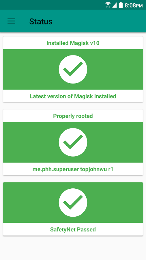Magisk Manager- screenshot