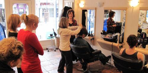 salon instructor