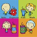 Kids Espresso Cafe Math icon