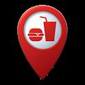 Fast Food Locator | Worldwide Fast Food Finder icon