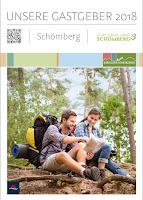 Das Titelbild des Gastgeberverzeichnisses 2018 von Schömberg