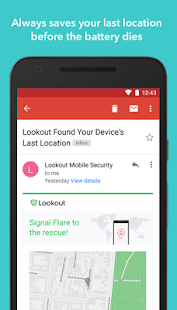 Security & Antivirus | Lookout- screenshot thumbnail